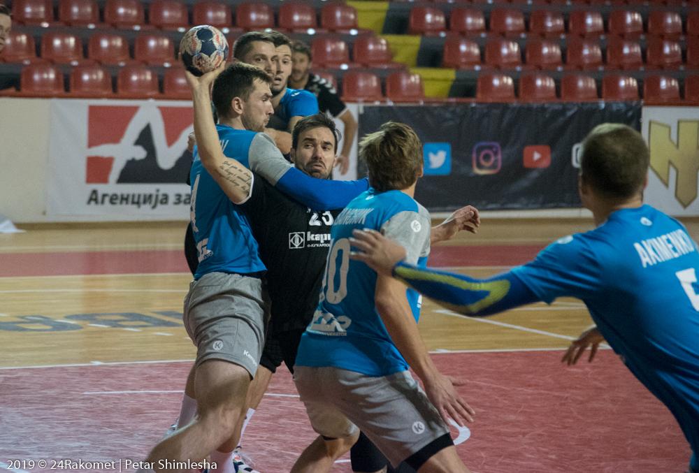 Бутел Скопје со деби победа, го совлада ЗТР Запорожје во Купот на ЕХФ