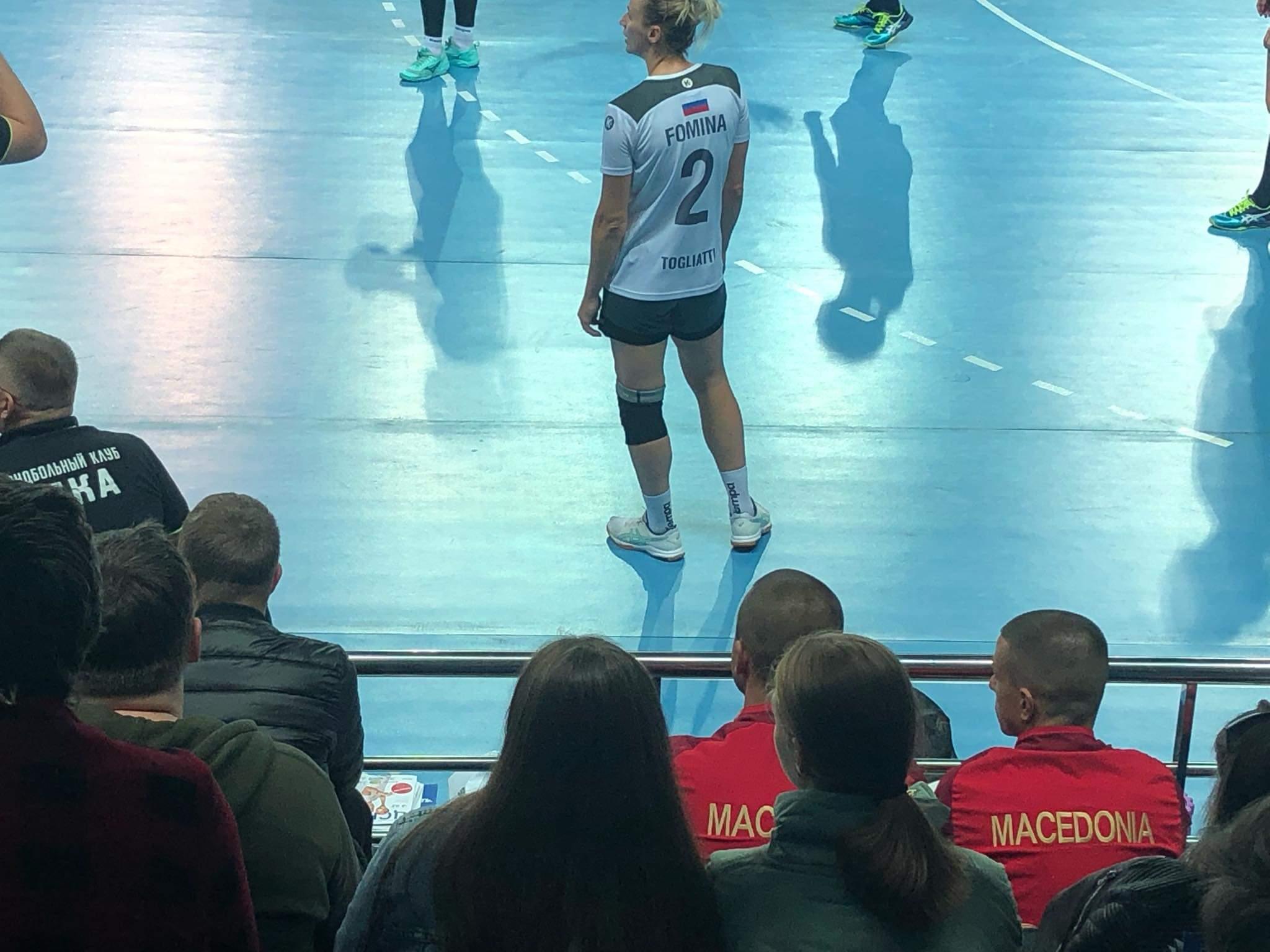 Македонци има и во Русија: Поддршка за Ристовска и ЦСКА во дербито со Лада (ФОТО)