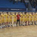 Матлиески ги одбра кадетите за настап на Медитеранските игри во Атина
