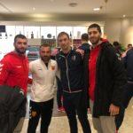 Шампионскиот тим на Вардар заедно во Виена (ФОТО)