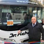 """Возачот Македонец ги загрева нашите репрезентативци: """"Комитска"""" ечи и ќе ечи на пат до Штадхале"""