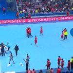 Навивачи ги нападнаа ракометарите на Египет! (ВИДЕО)