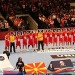 Прочитана игра и катастрофално прво полувреме, Македонија губи со шест разлика против Австрија