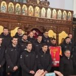 Ракометарите го прославија Божиќ во Љубљана (ФОТО)