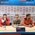 Ниту еден тренер на Вардар не се појави на пресот по дебаклот од Мешков