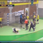 Бокс на ракометен натпревар во Босна и Херцеговина (ВИДЕО)