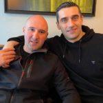 Две легенди на едно место: Лазаров и Иџе на кафе средба во Нант (ФОТО)