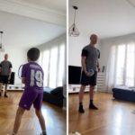 Најомразениот Французин во Хрватска тренира со синот во дрес на Лука Модриќ! (ВИДЕО)