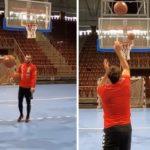 """НБА звездите"" од Веспрем повторно во акција - Манасков против Мае (ВИДЕО)"