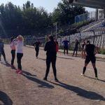 Нема пауза за Саздовска, од денеска тргна во поход со новите колешки во Браила (ФОТО)