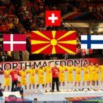 Македонија досега играла 13 пати против Данска, Швајцарија и Финска - има пет победи и едно реми!