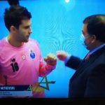 """Митревски во елемент: Со 15 одбрани му донесе победа на Порто и е """"играч на мечот"""""""
