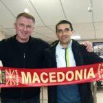 Се евоцираа спомени од Велес: Лазаров во Запорожје го сретна поранешниот соиграч од Борец - Јуриј Салогуб (ФОТО)