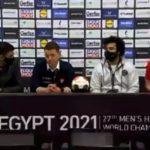 Гаф до гаф во Египет: Модератор на прес по натпревар не знаеше кои репрезентации играле?! (ВИДЕО)