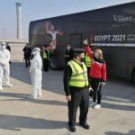 Египет ги отвори вратите за гостите, Јапонците пристигнаа први