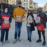 """Суперлигашите обединети во акција, голема поддршка за продавачите на """"Лице в лице"""" (ФОТОГАЛЕРИЈА)"""