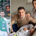 """Ќе има мекици кај """"фармацевтите"""": Босанецот Периќ во Битола го доби синот Ивано (ФОТО)"""