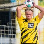 Што ако фудбалската ѕвезда Халанд продолжеше да игра ракомет? (ВИДЕО)