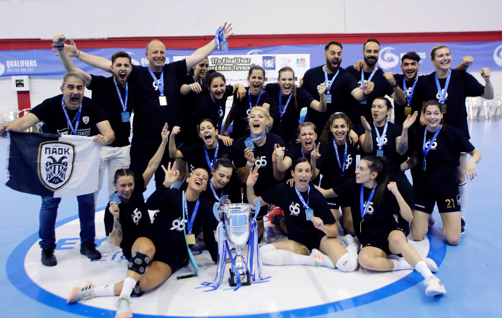 Македонското трио го однесе ПАОК до трофеј во Купот на Грција (ФОТО)