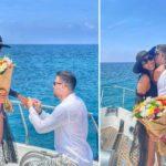 """Романтично запросување на јахта - една од најубавите голманки кажа """"ДА"""" (ФОТО)"""