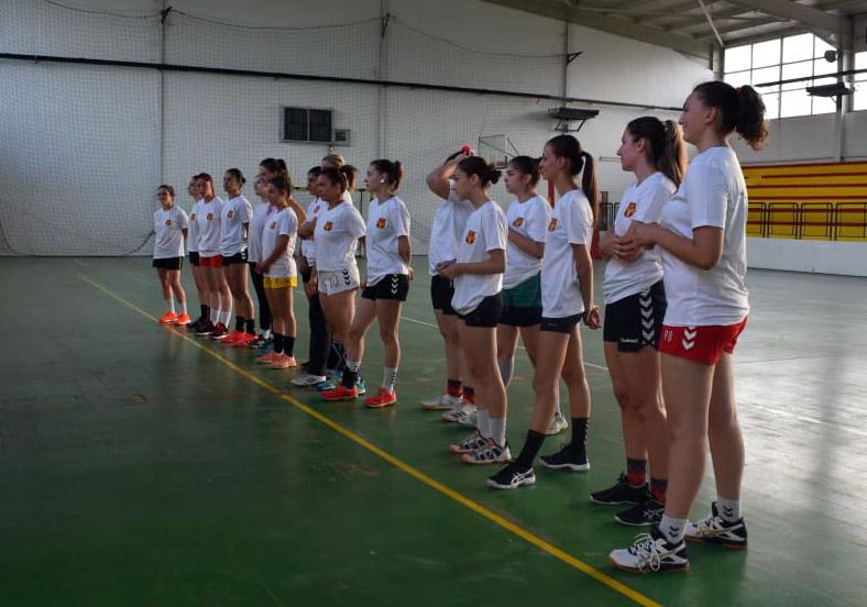 Амбициозниот Ѓорче Петров донесе уште една репрезентативка и почна со подготовки (ФОТО)